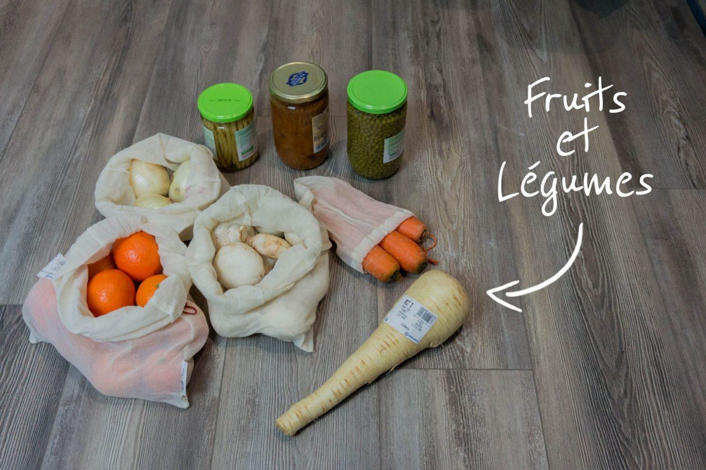 Les courses du Leclerc, Fruits et légumes