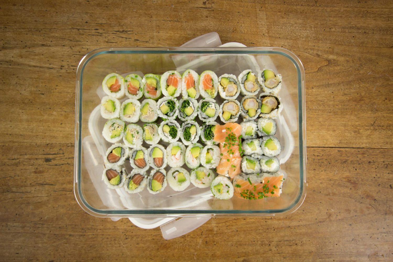 Les sushis Zéro Déchet